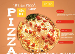 Pizza Website Samples