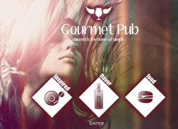 Pub Website Samples