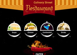 Restaurant Website Samples