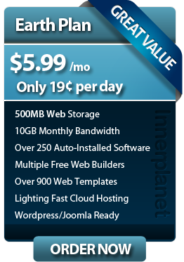 washington Web Hosting plan